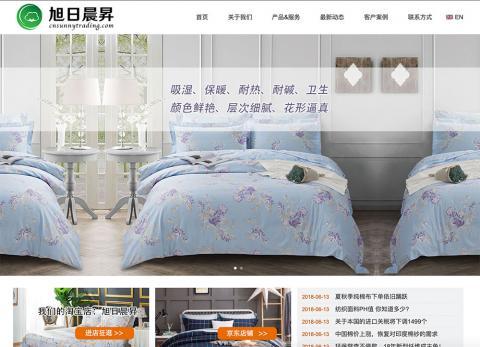 旭日晨昇网站设计